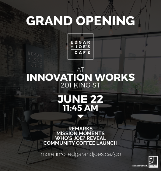 Edgar and joes grand opening